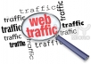 drive unlimited USA traffic for one month