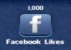 give you genuine 1000 Facebook likes