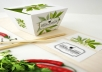 give you 2 pcs Food Box Branding Mock Up Templates