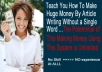 Make You Money By Article Marketing Without Writing a  SINGLE Word