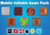 give you 7 Quality Flash GAME AS3 source codes with tutorial files