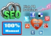 social BookMark your website to 100 high pr for seo and search engine ranking up