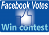 GIVE YOU 150 URGENT FACEBOOK VOTES ONLY