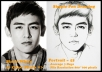 draw your photo become a nice portrait