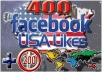 give 200 USA Facebook Likes 200 USA Twitter Followers 200 USA YouTube Like and 50 comments