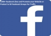 add 1000 Facebook fanpage Likes and Promote ur Product to 50 Fb Groups
