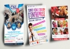 design a great, commercial flyer, brochure, ads