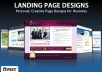 design amazing Landing Page or Squeeze Page
