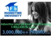promote websites or any thing more than 2,100,000real pepole super fastly