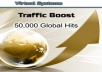 give you 50,000 real traffic to your site by google,facebook,twiiter