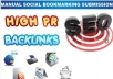 make High Quality Backlinks on 150 Social Bookmarking Sites from PR 9 to 0