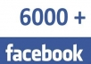 give USA 6000 Permanent Facebook Likes for any Website, Blog, Post