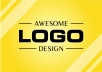 design best logo with free original editable file