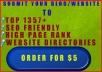 profesionally Submit Your Website To 1357SEO Friendly High Pr Web Directories