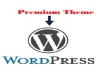 install and setup WordPress with premium theme