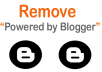 Remove Powered by Blogger from your Blog