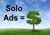 blast your Solo Ad to 1,000,000 MLM active subscribers