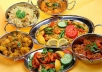 provide 2 delicious Indian food recipe online