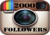 add Permanent 2000 instagram followers or likes within few hours