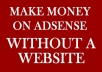 guarantee you 30 dollars daily on ADSENSE everyday without having a website