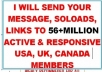 blast Your Solo Ads To 56 million Getresponse Active Opt in members