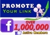 post Your Link to 1,000,000 Real Active Facebook Group Member