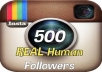 get you 500 Amazing Instagram supporters inside 72hrs