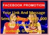 Post Your Link To 50 Pages Of Facebook Group Members Of 5000 Above Each Twice a Week