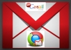 provide you 60 gmail accounts