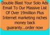 double Blast Your Solo Ads Email To Our Massive List Of Over 19million Plus