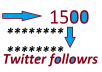 give you 1500 twitter followers