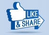 get you 1000 facebook Post likes within few hours of the order