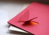 create paper art greeting cards