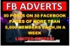 blast Your Link On 30 Facebook Group Pages Of Not Less Than 5000 Members