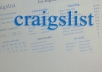create up to 5 Craigslist ads