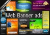 create Amazing Web Banner ad