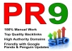 manually do 30 PR9 Safe High Pr Backlinks dofollow edu