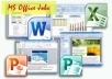 be of help in any of your MS Office work