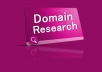 Research Highly Profitable Micro Niche with 4 Main Keywords You can Target and a List of Most Suitable Available Domain Names