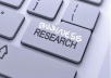 make a deep online research for business