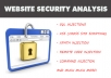 do a full security review of your website