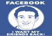 teach you how to get 5k Facebook friends in 2weeks and 50k fan page like easily