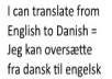 translate this into danish