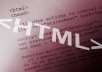 do any html5 webpage design
