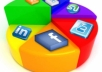 promote to any thing in 3,00,000 facebook fans plus massive extras