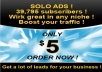 blast Your Solo Ads To More Than 39,795plus Classified Ad Sites Plus Free Bonus