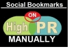 submit your website MANUALLY to the 15social bookmarking sites