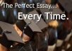 write a professional academic essay or research paper