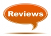 write a review for you