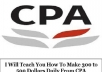teach You How To Make 300 to 500 Dollars Daily From CPA